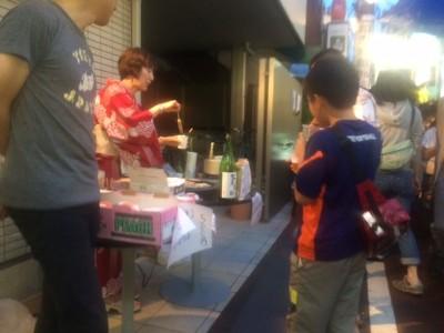 笹塚祭りの企画で出店しました!