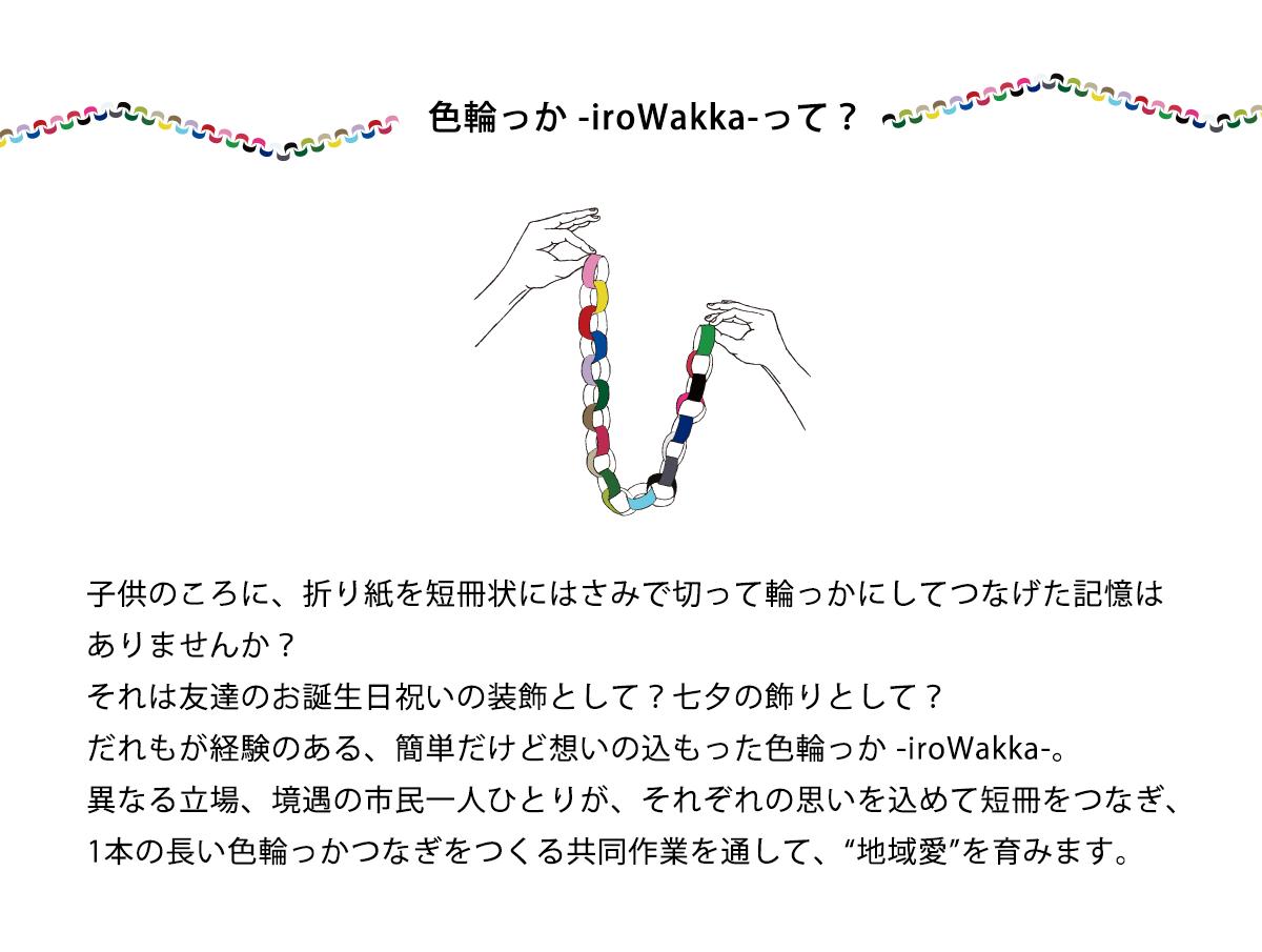 色輪っか -iroWakka-って?