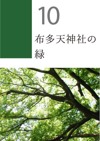 10 布多天神社の緑
