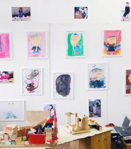 「街のアトリエ1号室」子どもたちの作品展を開催
